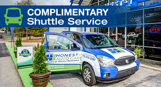 Honest-1 Auto Care - shuttle